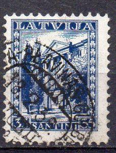 Lettland, Mi-Nr. 236 gest., Neue Verfassung Lettlands