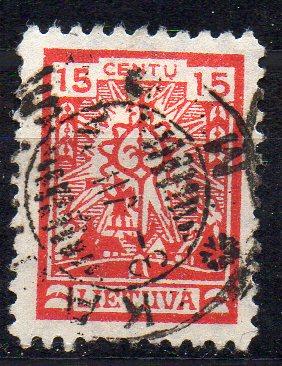 Litauen, Mi-Nr. 188 gest.