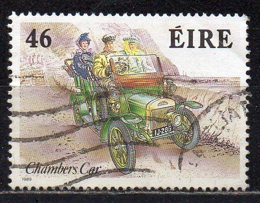 Irland, Mi-Nr. 674 A gest., Oldtimer - Personenwagen