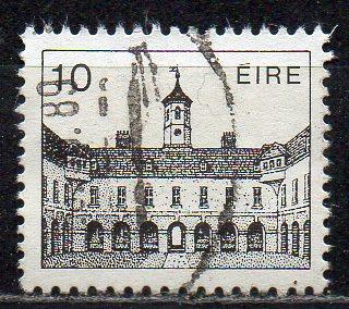 Irland, Mi-Nr. 491 gest., historisches Gebäude