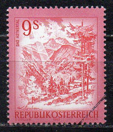 Österreich, Mi-Nr. 1720 **, MUSTER-Marke / Specimen, DS \