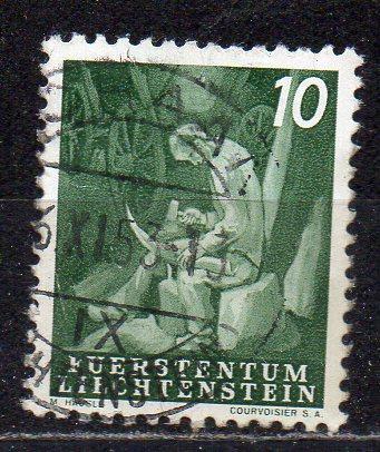 Liechtenstein, Mi-Nr. 290 gest.