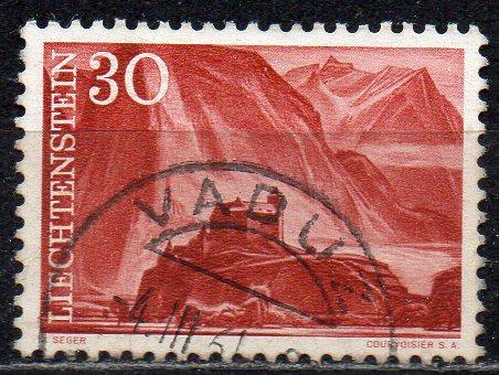 Liechtenstein, Mi-Nr. 383 gest., Schloß Gutenberg