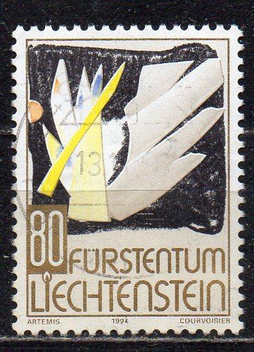 Liechtenstein, Mi-Nr. 1097 gest., Weihnachten 1994