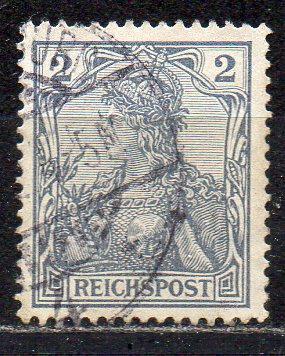 Deutsches Reich, Mi-Nr. 53 gest., Germania - \