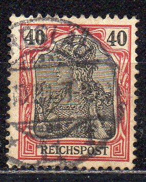 Deutsches Reich, Mi-Nr. 60 gest., Germania - \