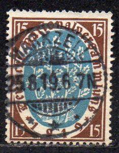 Deutsches Reich, Mi-Nr. 108 gest., Eröffnung der Nationalversammlung Weimar