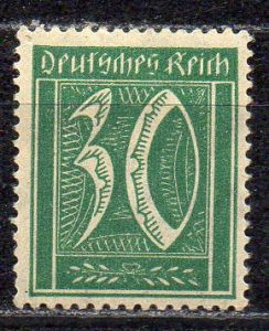 Deutsches Reich, Mi-Nr. 162 **, WZ Rauten