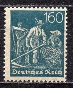 Deutsches Reich, Mi-Nr. 170 **, WZ Rauten