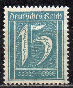 Deutsches Reich, Mi-Nr. 179 **, WZ Waffeln