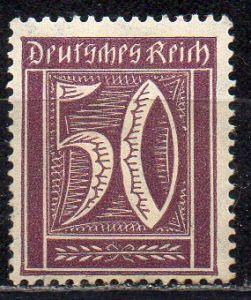 Deutsches Reich, Mi-Nr. 183 **, WZ Waffeln