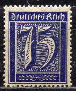 Deutsches Reich, Mi-Nr. 185 **, WZ Waffeln