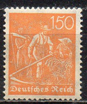Deutsches Reich, Mi-Nr. 189 **, WZ Waffeln