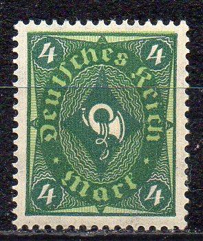 Deutsches Reich, Mi-Nr. 193 **, WZ Waffeln