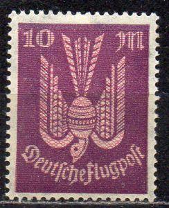 Deutsches Reich, Mi-Nr. 235 *, Flugpostmarke Holztaube
