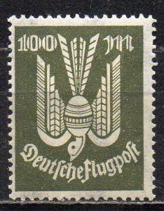 Deutsches Reich, Mi-Nr. 266 *, Flugpostmarke Holztaube