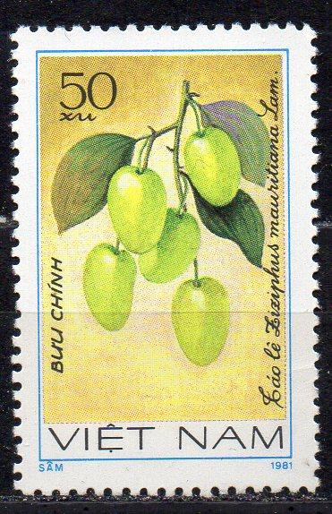 Vietnam, Mi-Nr. 1183 gest., Früchte