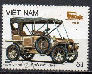 Vietnam, Mi-Nr. 1499 gest., Oldtimer