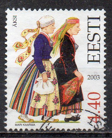 Estland, Mi-Nr. 472 gest., Trachten
