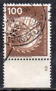 Berlin, Mi-Nr. 502 gest., UR,  Formnummer 2