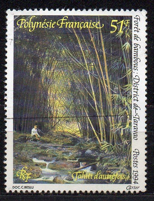Französisch-Polynesien, Mi-Nr. 661 gest., Bambuswald