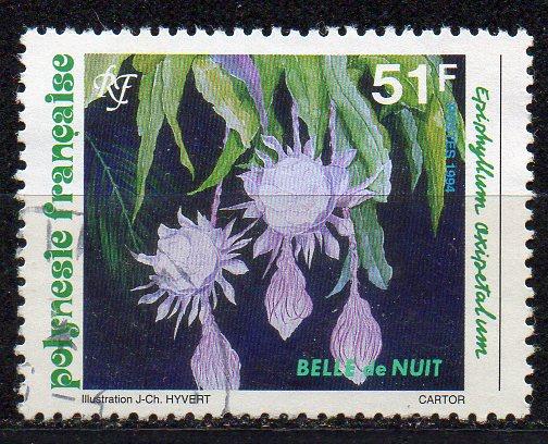 Französisch-Polynesien, Mi-Nr. 663 gest., Blüten