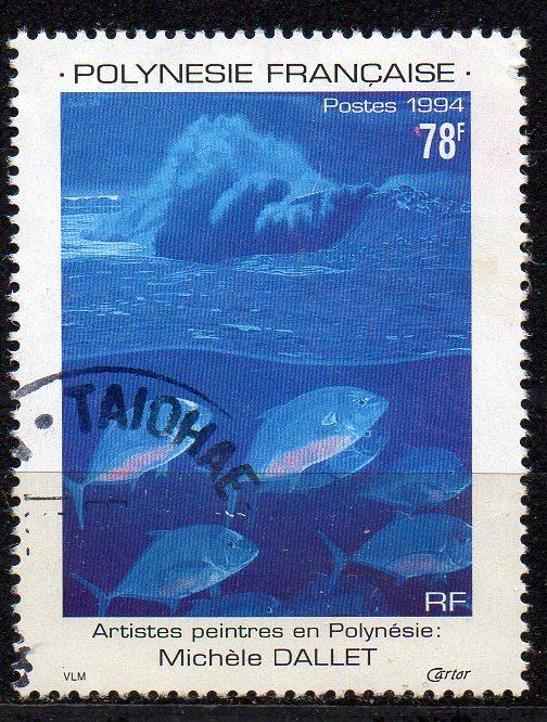 Französisch-Polynesien, Mi-Nr. 669 gest.,