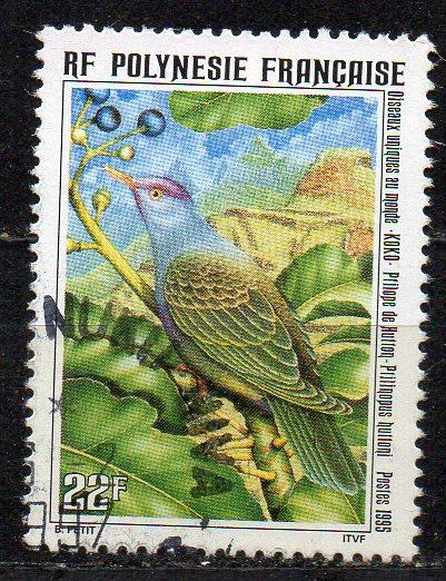 Französisch-Polynesien, Mi-Nr. 682 gest., Vogel
