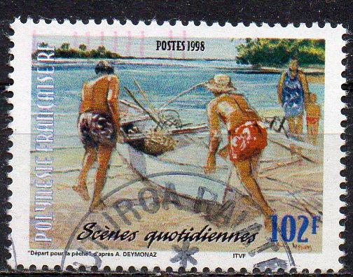 Französisch-Polynesien, Mi-Nr. 776 gest.,