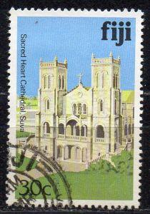 Fidschi - Inseln, Mi-Nr. 409 I X gest., Kirche