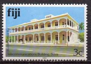 Fidschi - Inseln, Mi-Nr. 401 II X **, Gebäude
