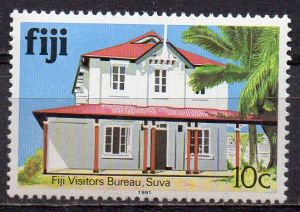 Fidschi - Inseln, Mi-Nr. 404 II X **, Gebäude