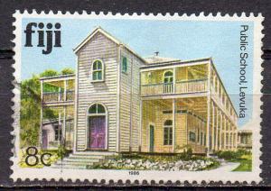 Fidschi - Inseln, Mi-Nr. 558 gest., Gebäude