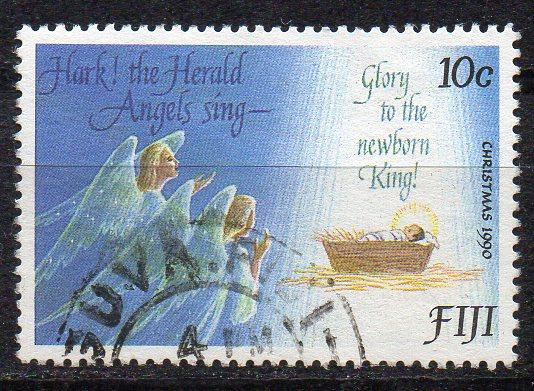 Fidschi - Inseln, Mi-Nr. 628 gest., Weihnachten 1990