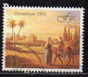 Fidschi - Inseln, Mi-Nr. 644 gest., Weihnachten 1991