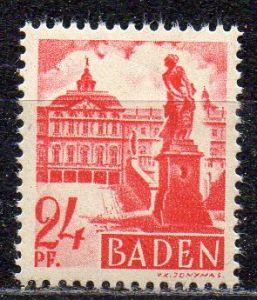 Französische Zone - Baden, Mi-Nr. 8 **