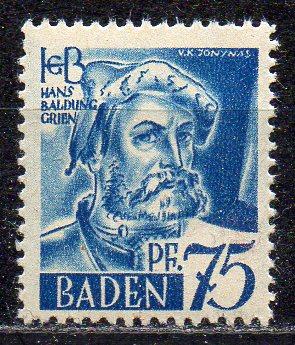 Französische Zone - Baden, Mi-Nr. 11 **