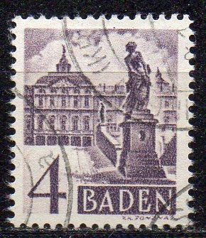Französische Zone - Baden, Mi-Nr. 29 gest.,