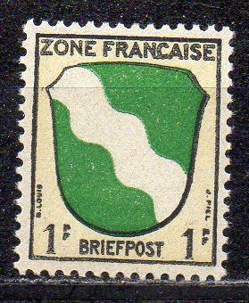 Französische Zone - Allgem. Ausgabe, Mi-Nr. 1 **