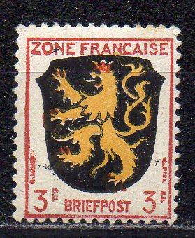 Französische Zone - Allgem. Ausgabe, Mi-Nr. 2 **
