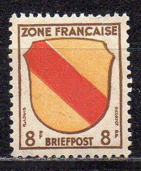 Französische Zone - Allgem. Ausgabe, Mi-Nr. 4 **