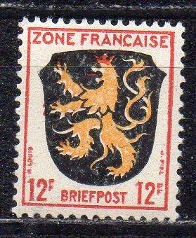 Französische Zone - Allgem. Ausgabe, Mi-Nr. 6 **