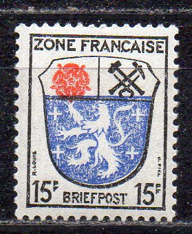 Französische Zone - Allgem. Ausgabe, Mi-Nr. 7 **