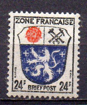 Französische Zone - Allgem. Ausgabe, Mi-Nr. 9 **