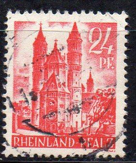 Französische Zone - Rheinland-Pfalz, Mi-Nr. 8 gest.,
