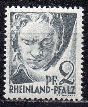Französische Zone - Rheinland-Pfalz, Mi-Nr. 1 **