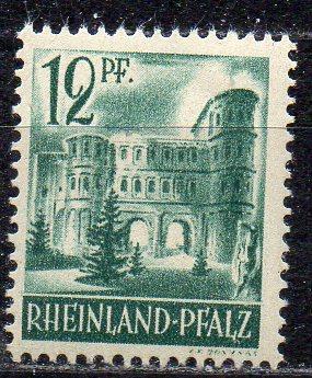 Französische Zone - Rheinland-Pfalz, Mi-Nr. 4 **