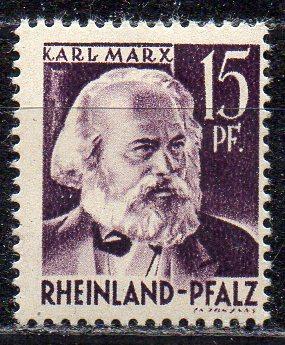 Französische Zone - Rheinland-Pfalz, Mi-Nr. 5 **