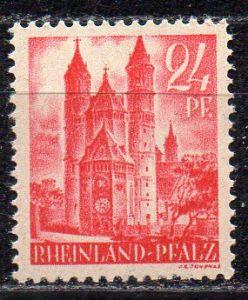 Französische Zone - Rheinland-Pfalz, Mi-Nr. 8 **