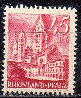 Französische Zone - Rheinland-Pfalz, Mi-Nr. 10 **